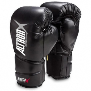 Professional Boxing Gloves , Black Boxing Gloves