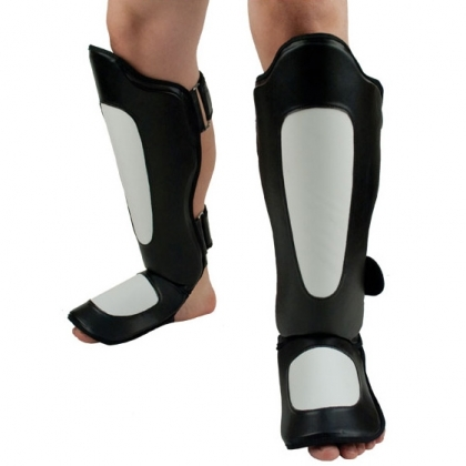 Shin Guard Made ofSynthetic Leather