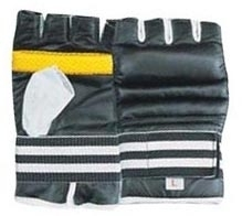 Grapling Gloves Made of Synthetic Leather / Goat Skin Leather / Geniune Leather