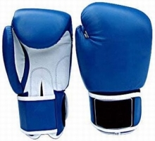 Russian Style Boxing Gloves. Made Of Artificial Leather PVC Hand Mold Made Of Triple Layered High De