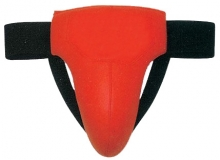 Groin Guard Made of PU / Soft Eva / Polyester / Plastic Cup